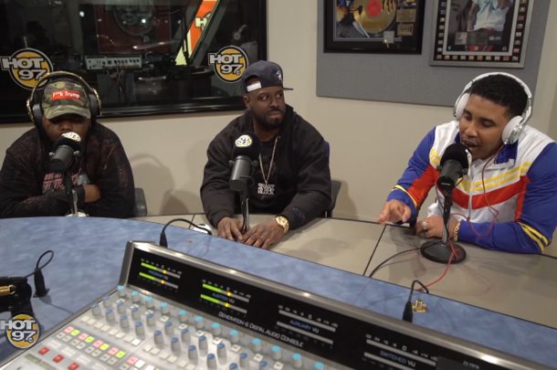 Goodz And T-Top Appear On Funkmaster Flex's Show