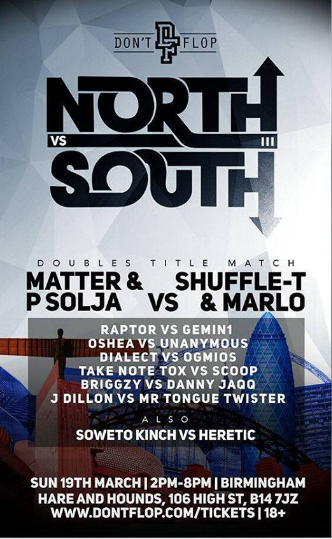 north vs south flyer