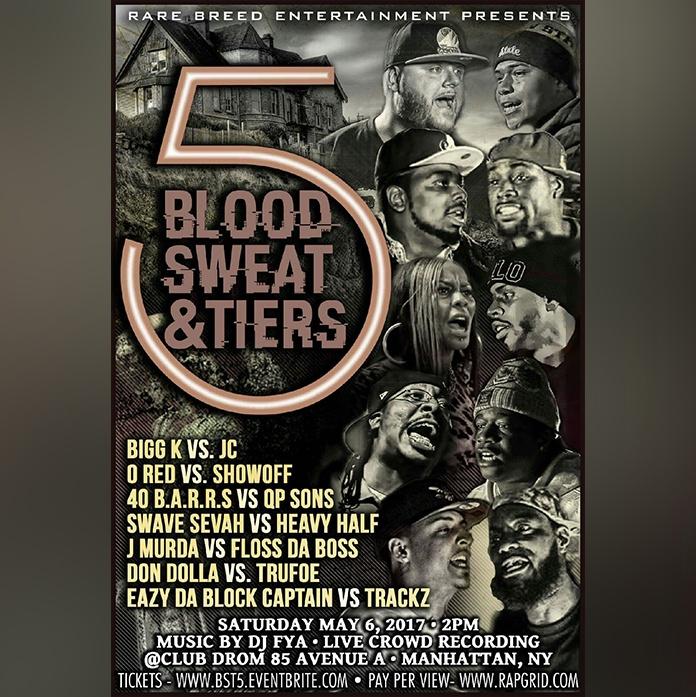 blood sweat tiers 5