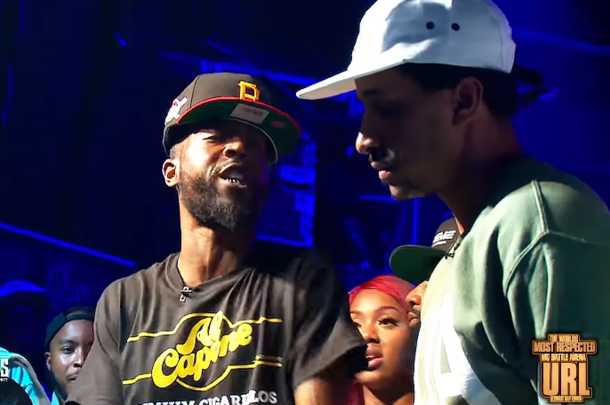 Tay Roc vs. Hollow Da Don