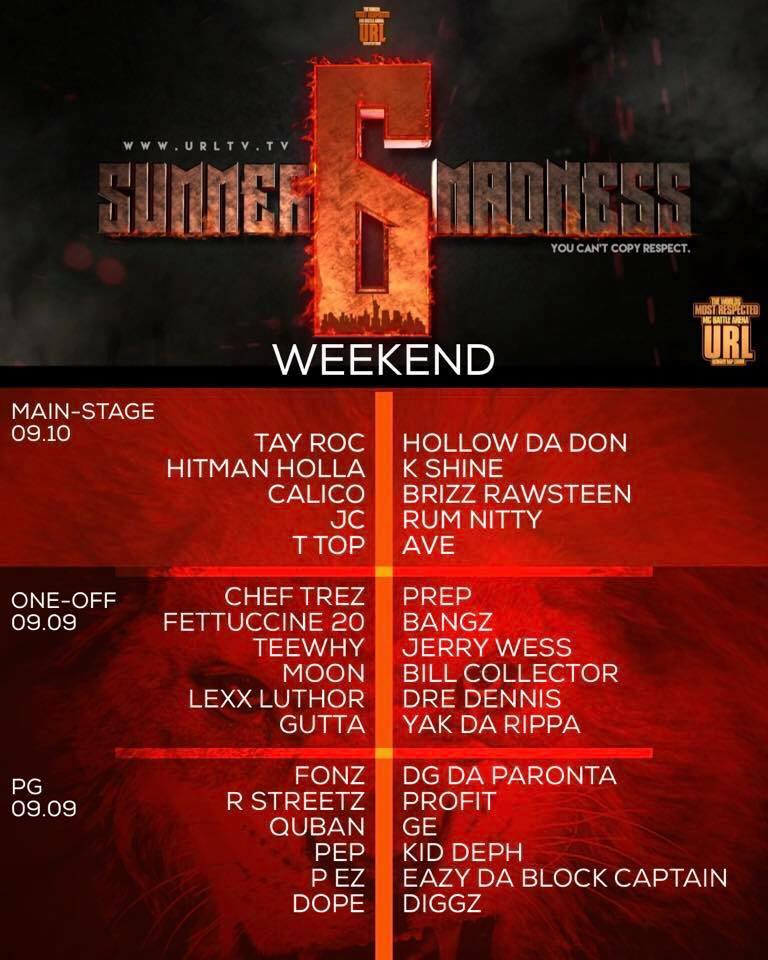 10 Things To Watch For At URL's Summer Madness 6 | Battle Rap